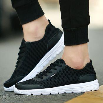 Men Walking Camping Shoes Women Breathable Mesh Trekking Water Shoe Outdoor Sport Running Sneakers Big Size