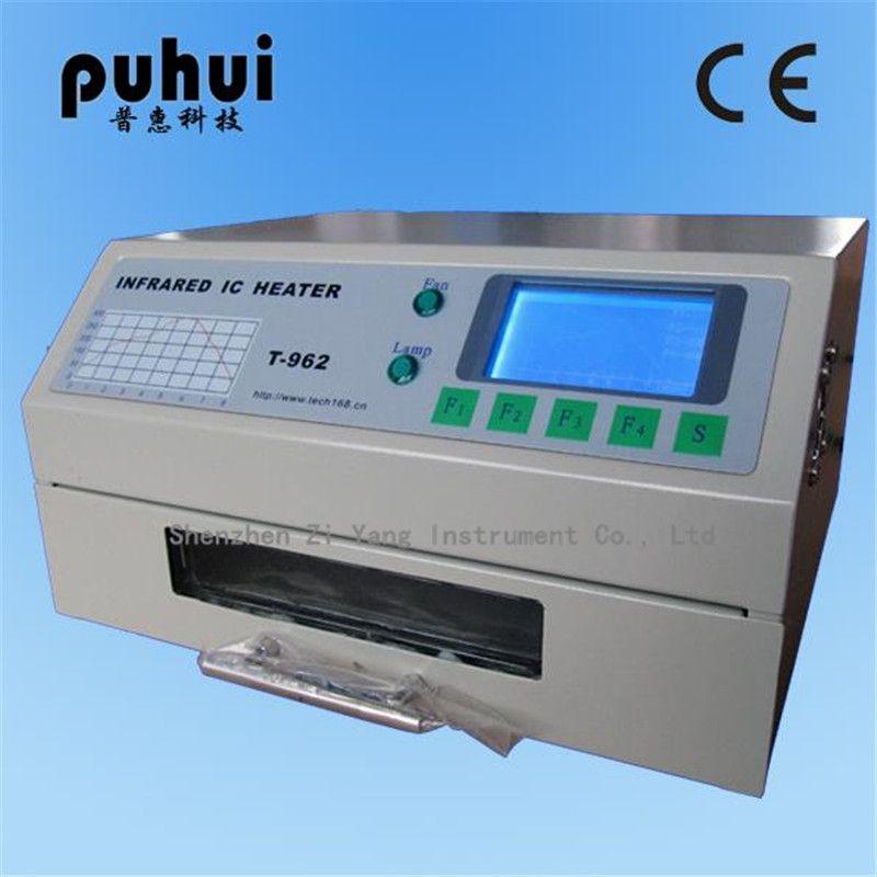 T-962 220 V Desktop Reflow-ofen Infrarot IC Heizung Löten Maschine 800 W 180x235mm T962 für BGA SMD SMT Rework