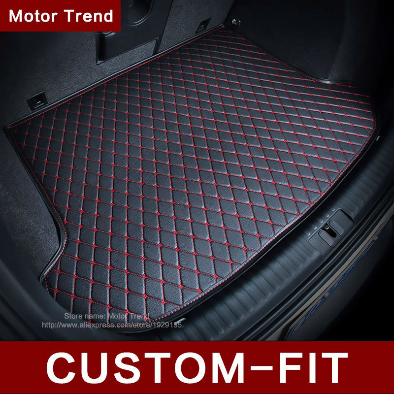 Custom fit car trunk mat for Kia Sorento Sportage Optima K5 Forte Rio/K2 Cerato K3 Soul 3D carstyling carpet cargo liner