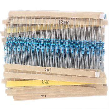 MCIGICM 600 Pcs 1/4 W 1% 20 PCS 30 Valeurs En Métal Film Résistance Assortiment Kit Set pack électronique diy kit résistance