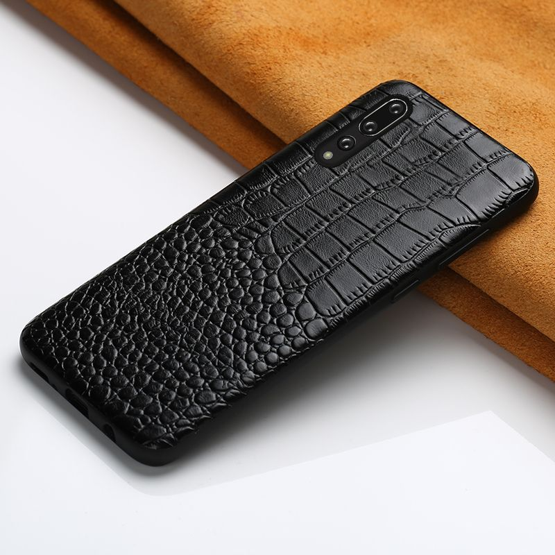 Genuine Leather case for Huawei P20 Pro mate 20 P30 Pro Lite Y9 Y7 P SMART 2019 360 protective Cove For Honor 8X 10 20 9X Pro