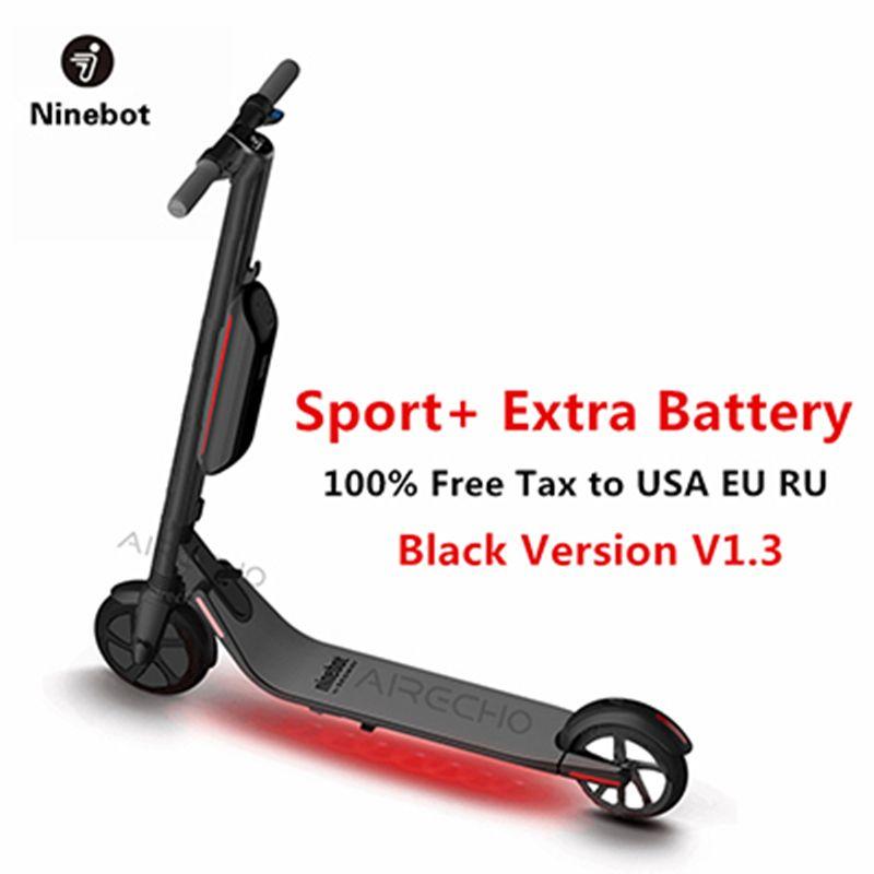 2019 Ninebot Segway KickScooter ES4/ES2 Smart Elektrische Tretroller faltbare leichte bord hoverboard skateboard hover board