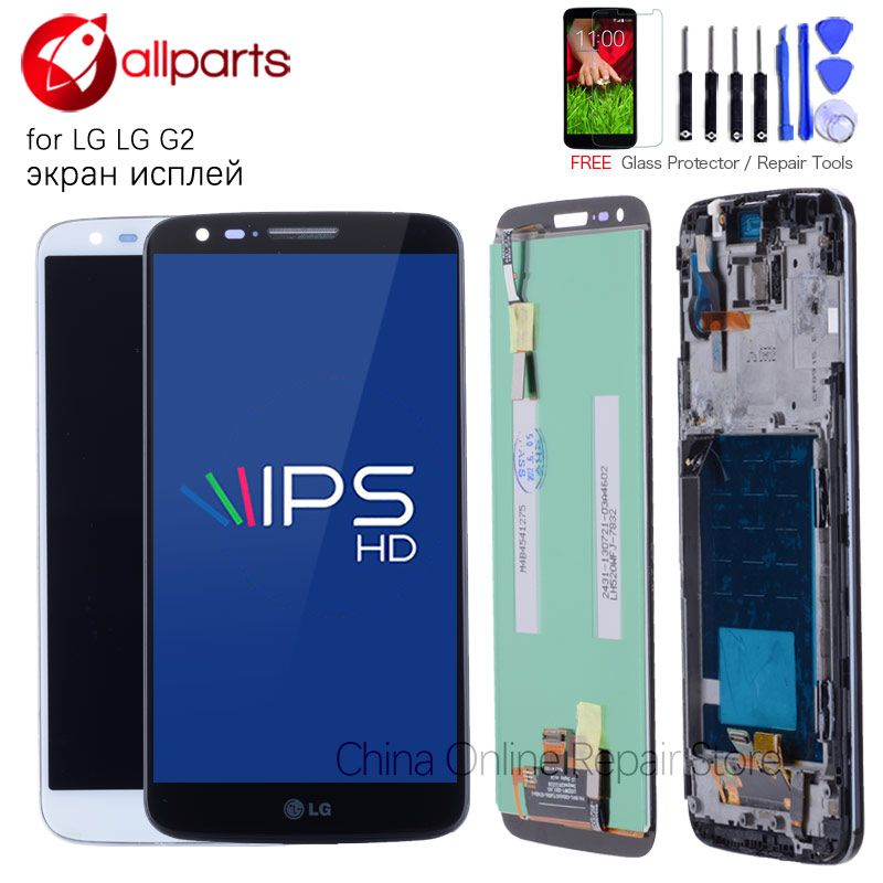 ORIGINAL 5.2'' For LG G2 LCD Display Touch Screen For LG G2 LCD D800 D801 D802 D805 D803 VS980 F320 LS980 LCD Replacement