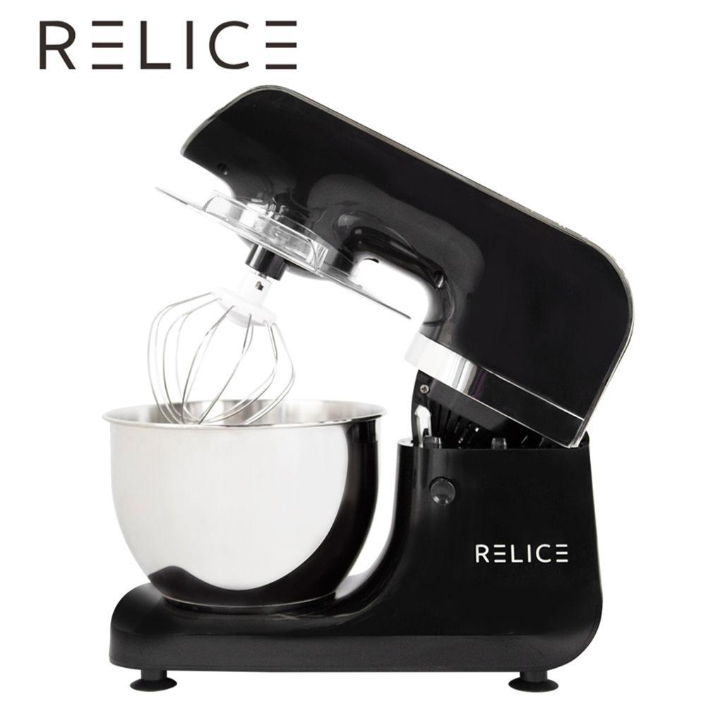 RELICE Elektrische Stand Mixer 800 watt 6 Geschwindigkeit 3,2 Liter Haushalt Küche Mixer Mit Mischen Schüssel Teig Haken Flache beater