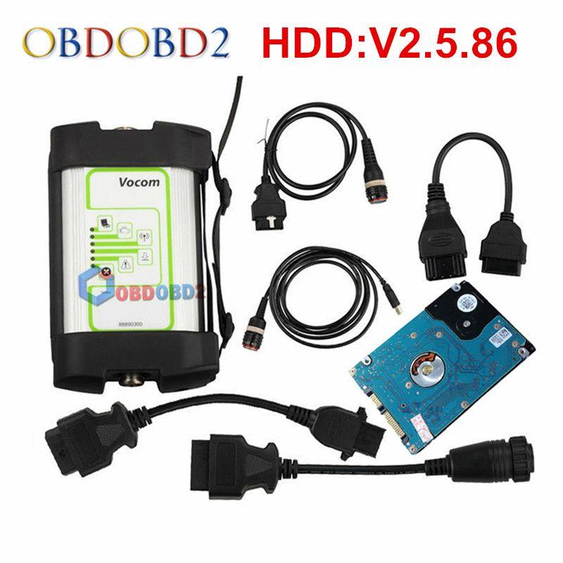 V2.5.86 For Volvo 88890300 Vocom Interface Truck Diagnostic Tool For UD/Mack/Volvo Vocom Online Update Free Ship
