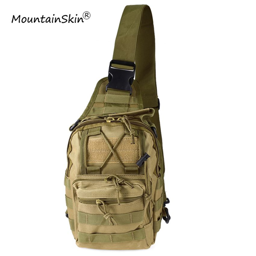 Mountainskin Hot Sale Men Women Flap Pocket Military Tactical Backpack Unisex Fashion Camouflage Durable Adjustable Brand LA765