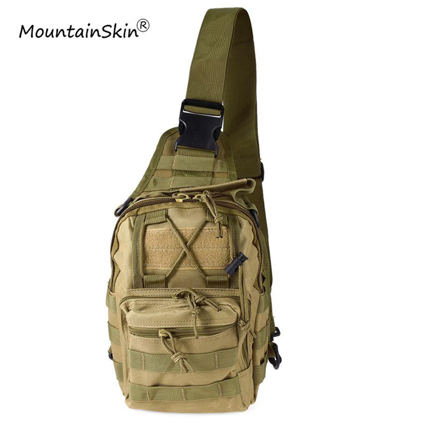 Mountainskin Vente Chaude Hommes Femmes Rabat Poche Militaire Tactique Sac À Dos Unisexe De Mode Camouflage Réglable Durable Marque LA765