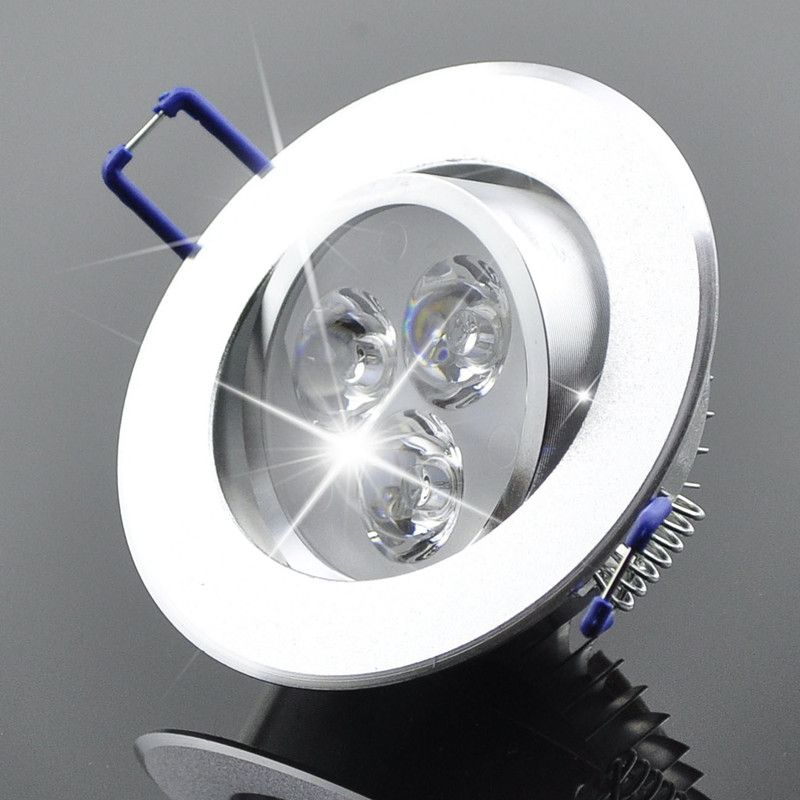 Großhandel 9 Watt Decke downlight Epistar led-deckenleuchte Einbaustrahler licht AC85-265v für zu hause beleuchtung led-lampe licht