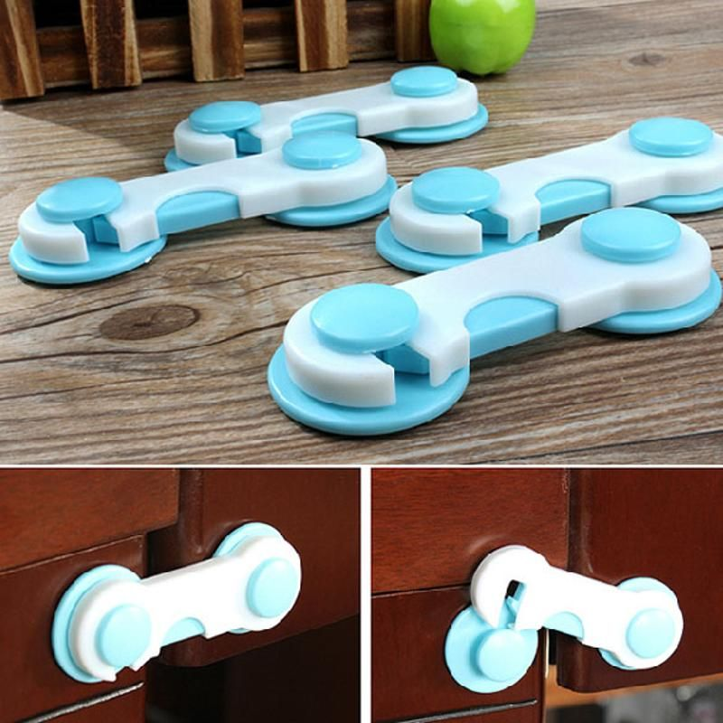 20pcs/Set Doors Drawers Lock Kids Protection from Children Safety Plastic Lock Cabinets Cover Baby Security Locks Products