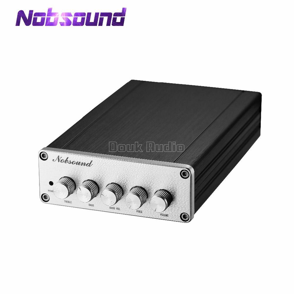 Nobsound Mini HiFi 2,1 Kanal TPA3116D2 Digital Power Verstärker Hallo-fi Stereo Audio Bass Amp 2*50 watt Subwoofer