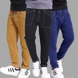 Besar Anak Laki-laki Olahraga Celana Musim Gugur Kapas Celana untuk Anak Laki-laki 6 8 10 12 Anak Long Olahraga Celana Kasual Pakaian Laki-laki