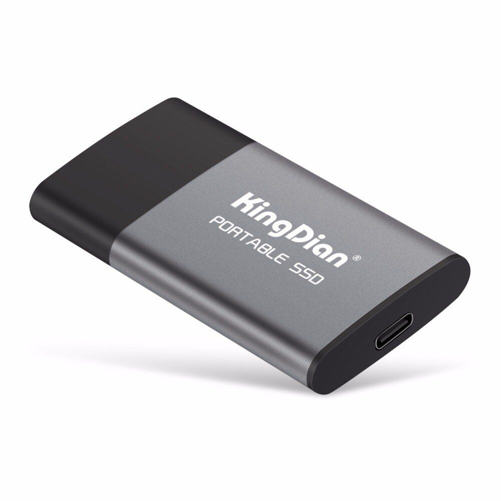 KingDian Date point Portable SSD USB 3.0 120 gb 240 gb 500 gb Lecteur à État Solide Externe Meilleur cadeau pour hommes d'affaires