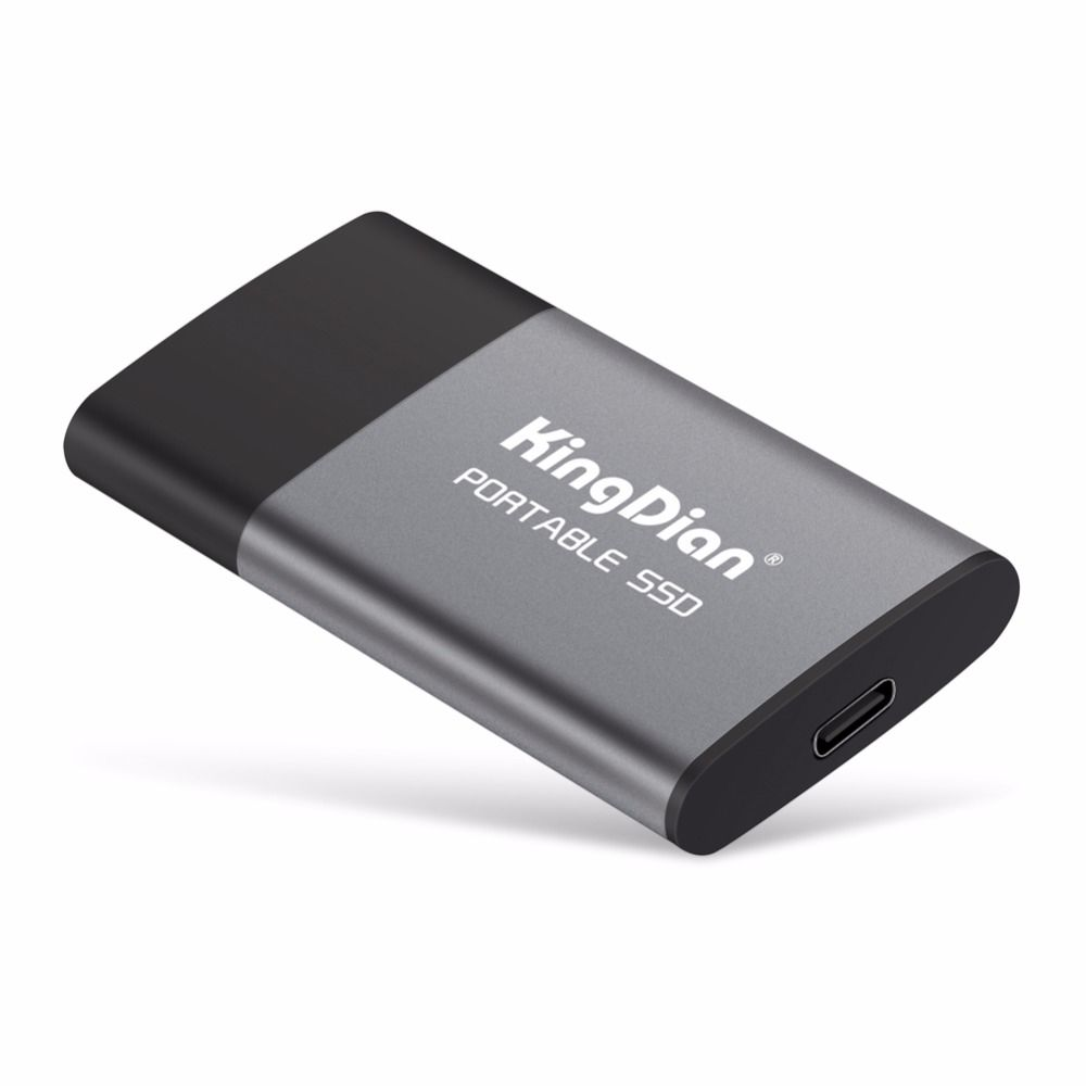 KingDian Newest item Portable SSD USB 3.0 120GB 240GB 500GB External Solid State Drive Best gift for businessmen
