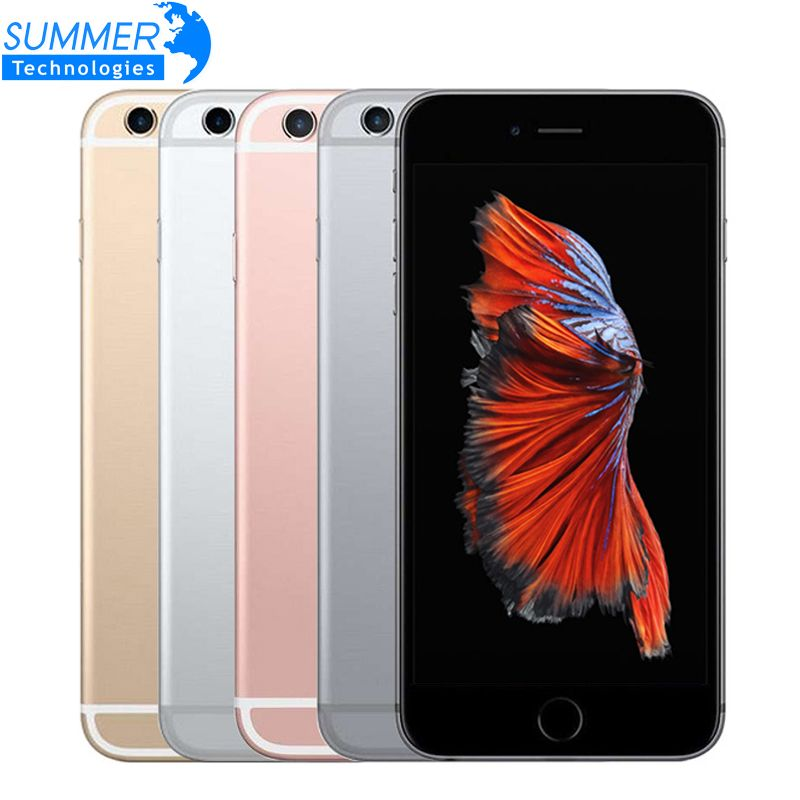 Original Unlocked Apple iPhone 6S Mobile Phone IOS 9 Dual Core 4.7'' 12.0MP Camera 2GB RAM 16/64/128GB ROM 4G LTE Smartphone