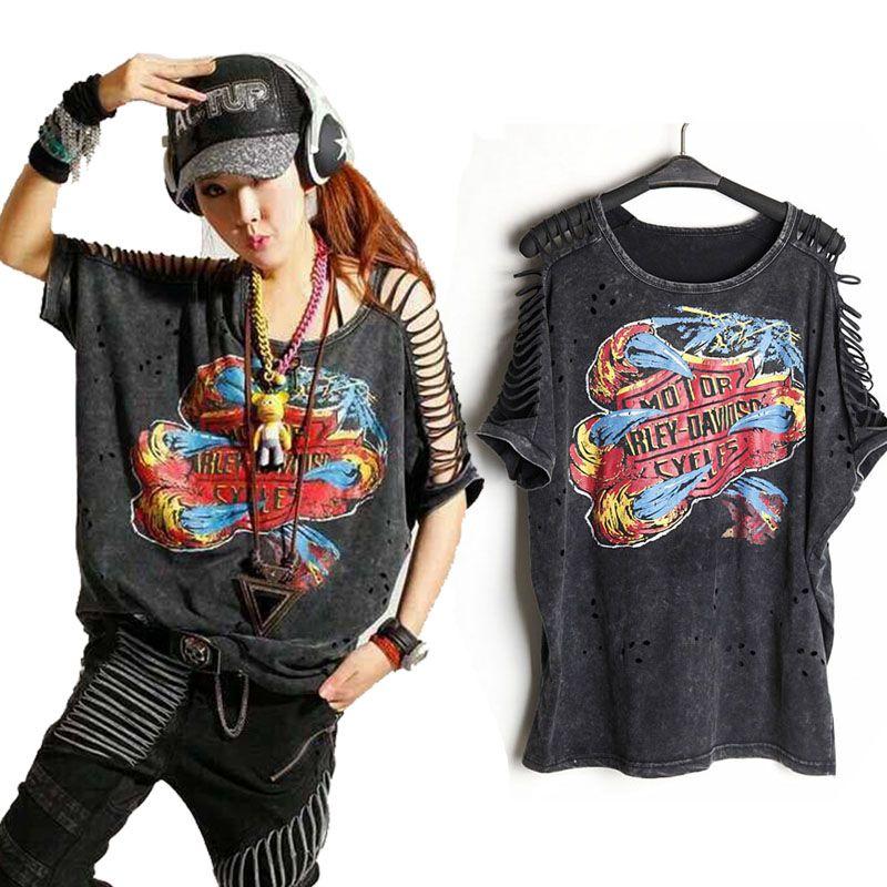 T Shirt femme grande taille Desigual Punk Rock hauts à la mode Camisetas roupas femininas camisas mujer Tshirt vêtement femme vêtements