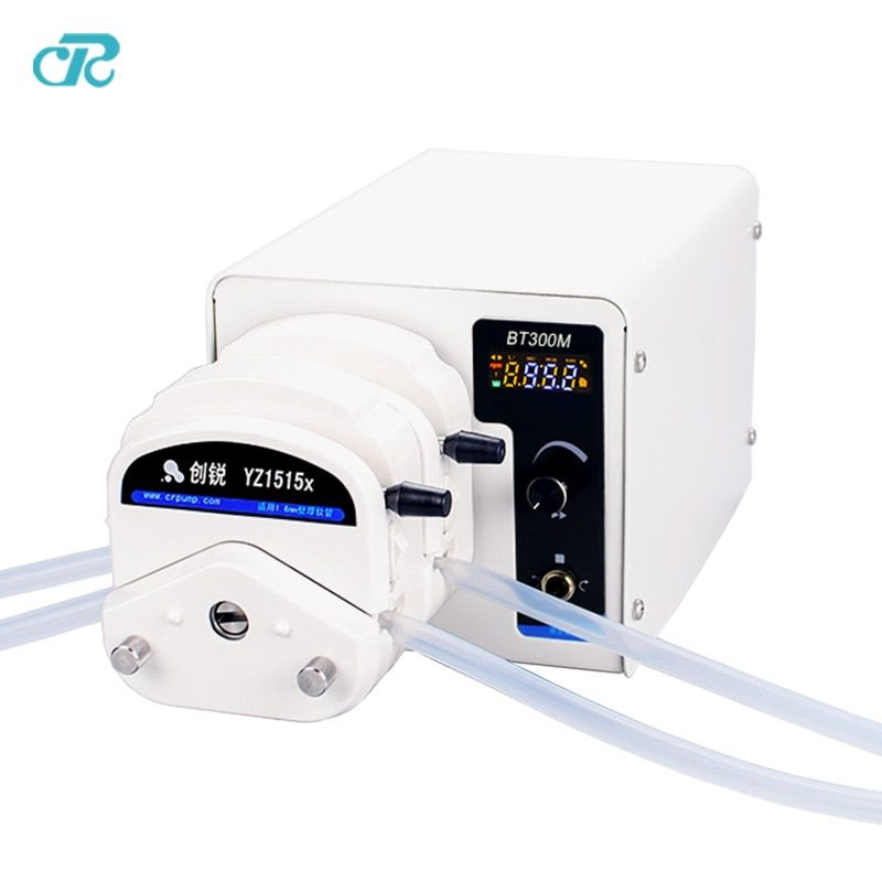Electric Liquid Peristaltic Pump With Double Pump Head YZ1515x for Lab Dosing Analytical