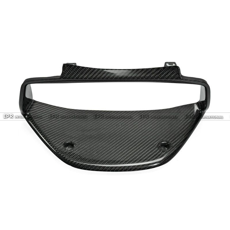 Carbon Fiber Cluster Surround (RHD) Glossy Fibre Interior Dash Cover Accessories For Mitsubishi Evolution EVO 7 8 9 Car Styling