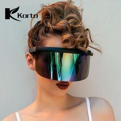 Nicki Minaj Kacamata Wanita Pesta Kolam Renang Kebesaran Berjemur Kacamata untuk Pria Tren Produk 2019 Warna Oculos Berjemur Kacamata Feminino