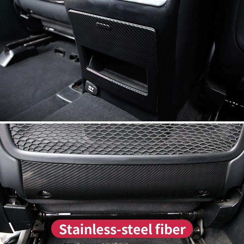 For Mercedes Benz GL320 350 450 GLS X166 Ml350 320 GLE W166 coupe c292 Main driving seat fiber Trim Cover Sticker Accessories