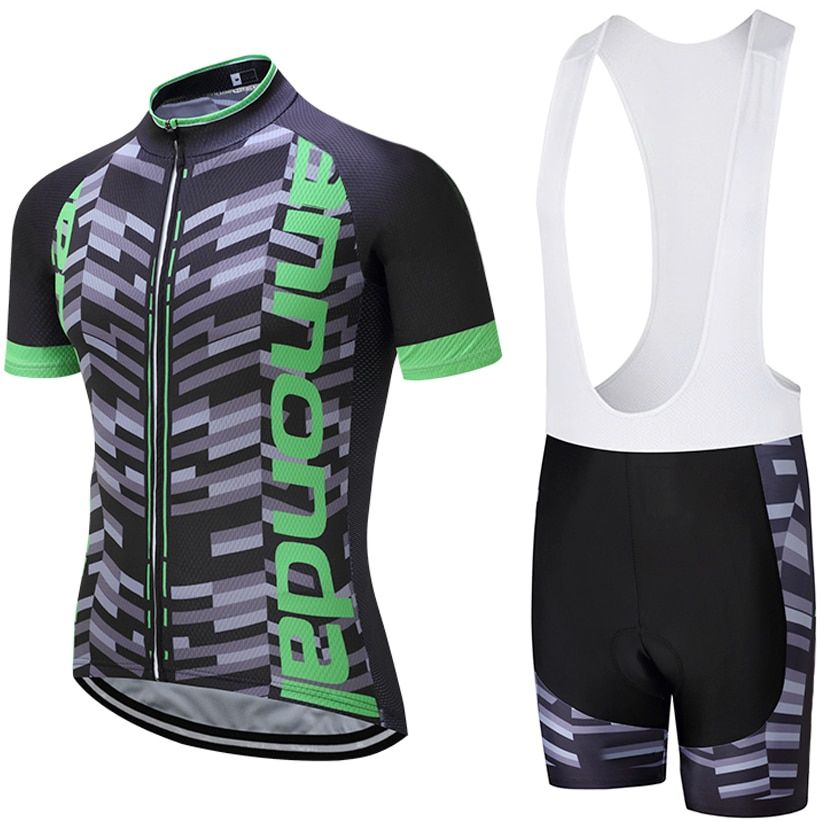 2018 UCI TEAM PRO cycling jersey 9D pad bibs shorts set Ropa Ciclismo mens summer quick dry bike shirts Maillots Culotte