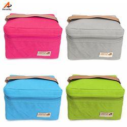 2019 популярные сумки для обедов кулер для женщин дети используется термо-пакет коробка еда Picinic сумка для обедов термо