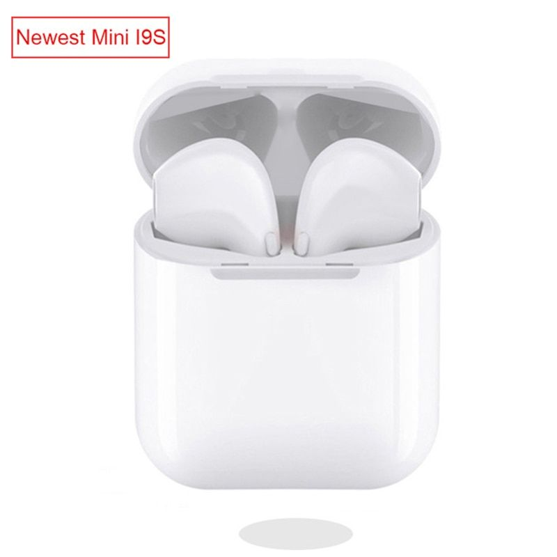 Mini Size IFANS TWS I9S Wireless earphone Bluetooth Earphone Invisible Earbuds With Mic For IPhone 6 8 7 Samsung xiaomi huawei