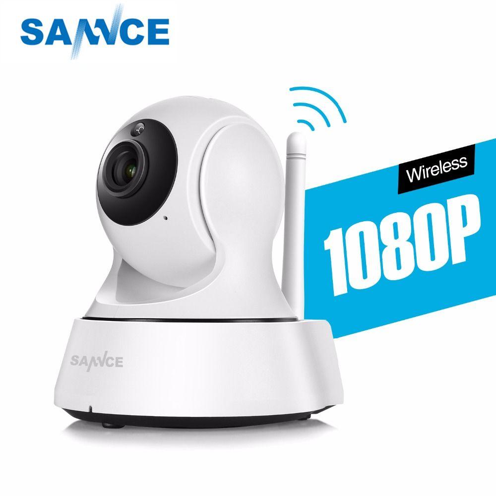 SANNCE HD 720P 1080P Wireless IP Camera Smart CCTV Security Camera P2P <font><b>Network</b></font> Baby Monitor Home Serveillance Wifi Camera