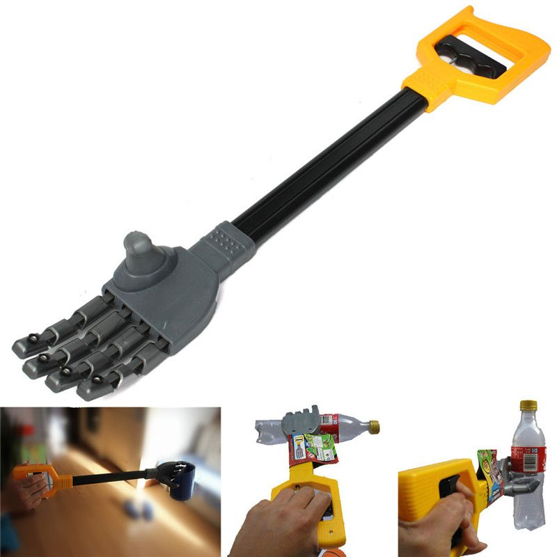 High Quality Plastic Robot Claw Hand Grabber Grabbing Stick Kid Boy Toy Move And Grab Things DIY Robot