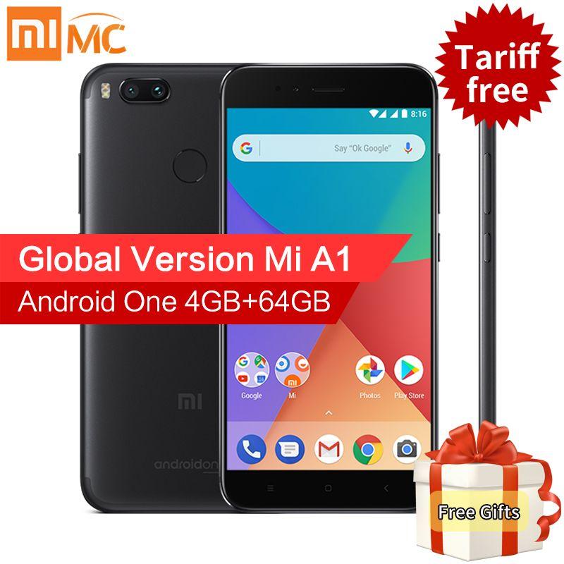 Global Version Xiaomi Mi A1 MiA1 Mobile Phone 4GB 64GB Snapdragon 625 Octa Core 5.5
