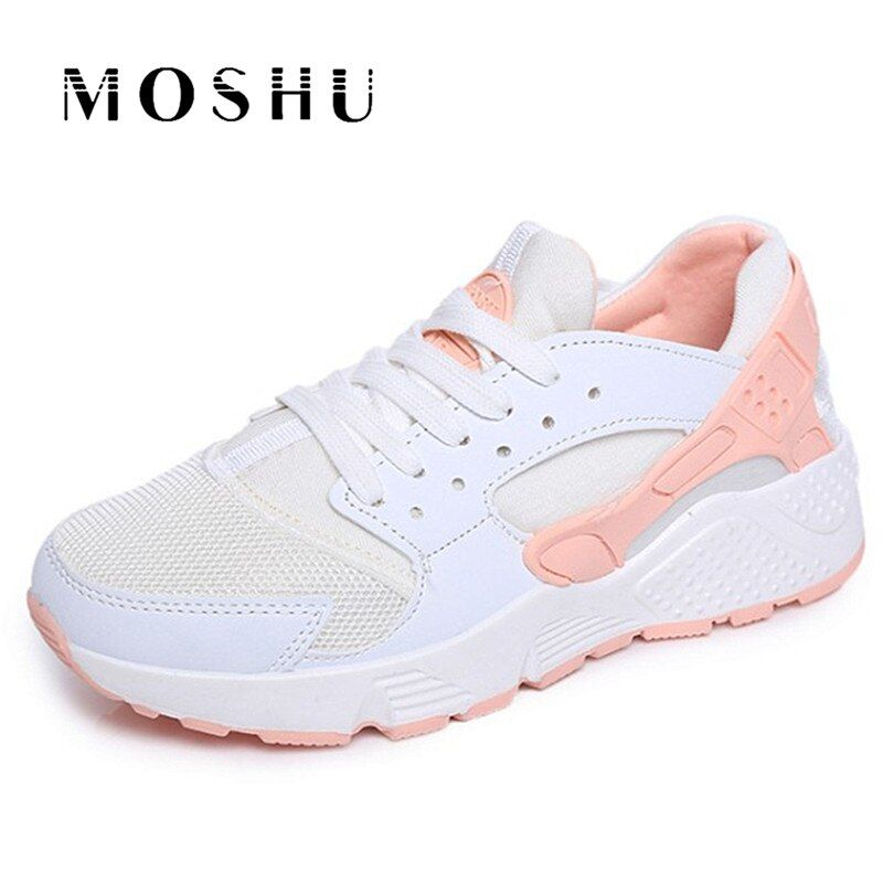 Fashion Women Sneakers Casual Shoes Wedges Air Mesh Canvas Female Shoes Trainers Tenis Feminino Chaussure Femme