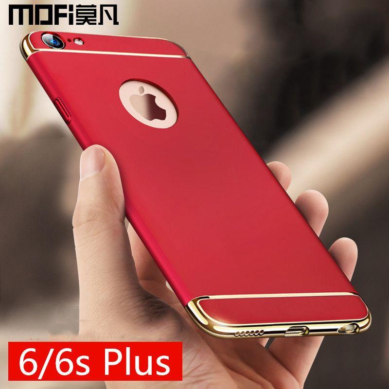 Pour iPhone6 cas pour iphone 6 couverture pour l'iphone 6 s plus cas dur protection MOFi pour l'iphone 6 s cas couverture plus rouge cas