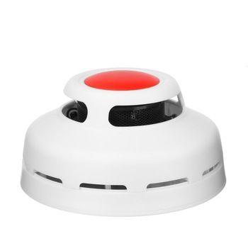 FGHGF 2 en 1 Combinaison De Monoxyde De Carbone Et Fumée Alarme CO & Détecteur de Fumée Accueil Sécurité Avertissement D'alarme Feu Protection