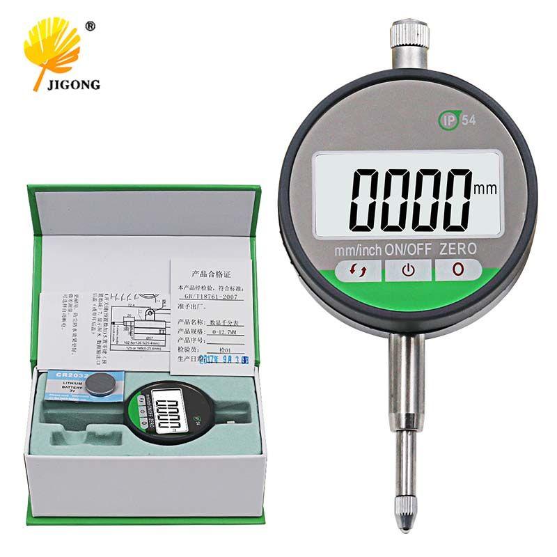 IP54 Oil-proof Digital Micrometer 0.001mm Electronic Micrometer Metric/Inch 0-12.7mm /0.5