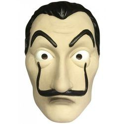 2018 La Casa De Papel Masque Salvador Dali Latex Cosplay Masque Salvador Dali Cosplay latex masque