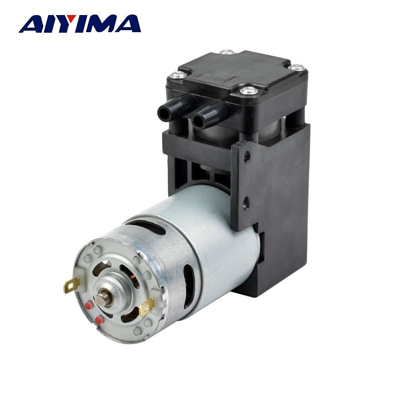 Aiyima DC12V vacuum pump/negative pressure suction absorption pump/piston pump 42L/min-85kpa