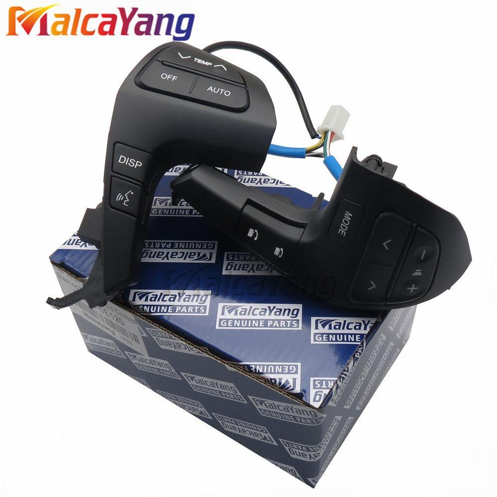 84250-0E220 84250-0E120 bouton de commande Audio de volant automatique pour TOYOTA HILUX VIGO COROLLA CAMRY HIGHLANDER INNOVA
