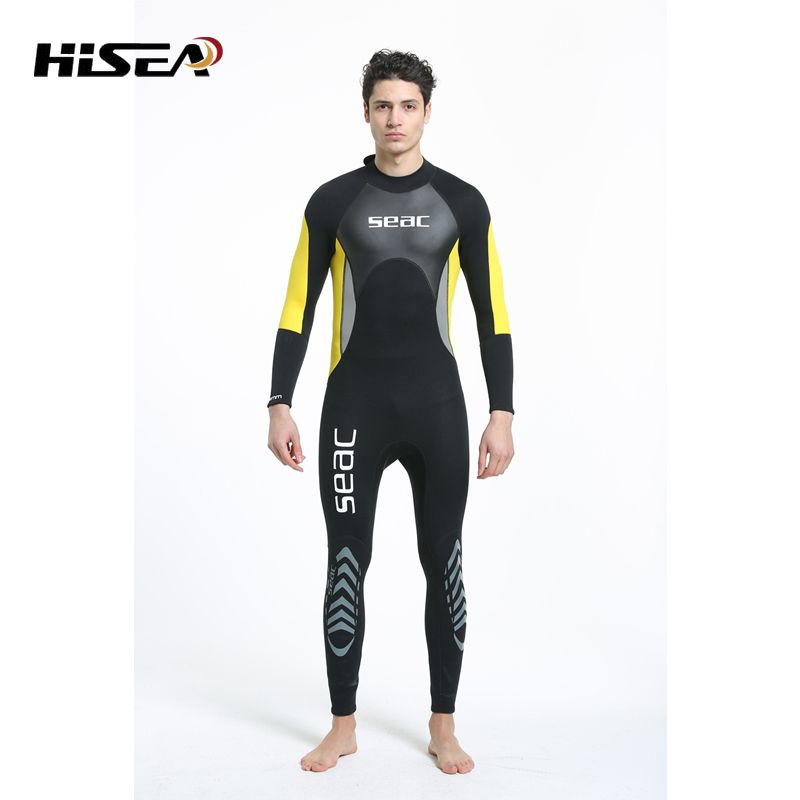 NEW Professional 3MM Neoprene Wetsuit One-Piece Full body For Men Scuba Dive Surfing Snorkeling Spearfishing Wetsuit Diving suit