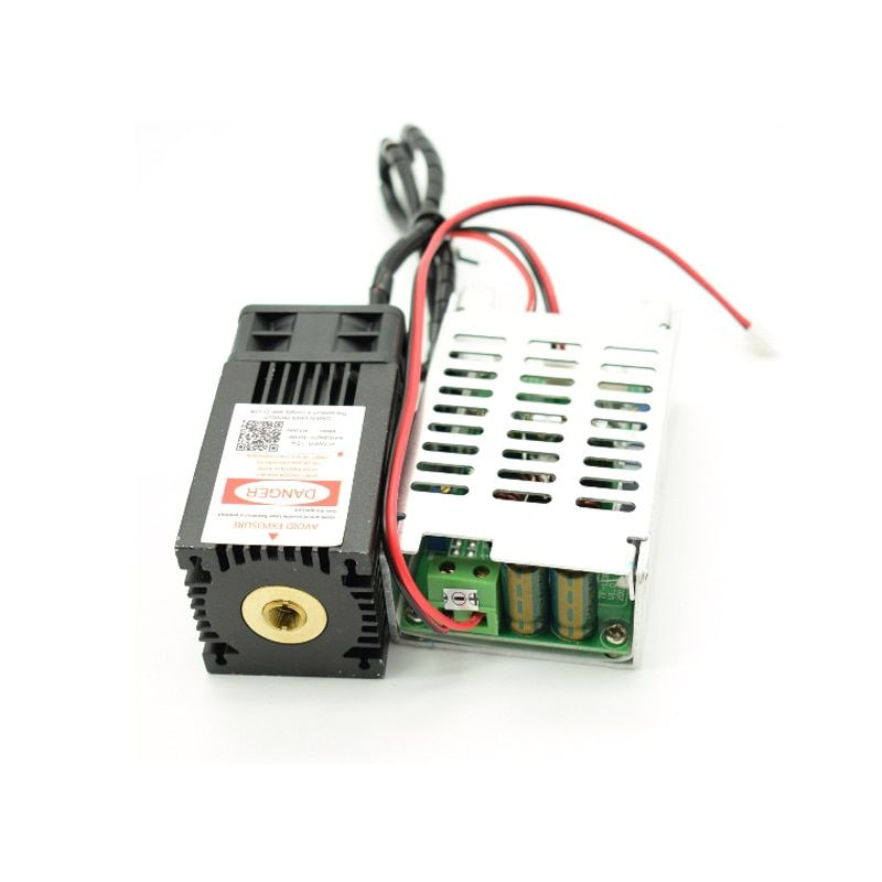 15000mw blue laser Module , 15w 450nm diy laser machine parts laser diode tube cooling fan with TTL,focus not adjustable