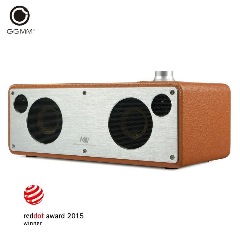GGMM M3 Bluetooth Speaker WiFi Wireless Speaker Stereo Sound HiFi Audio Home Theater Subwoofer Support Multiroom DLNA Airplay