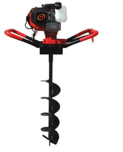 Strongest power 71cc 2.4kw Ground Drill Earth Auger Hole Digger Garden Tools Planting Machine Farm Auger Agricultural Drill