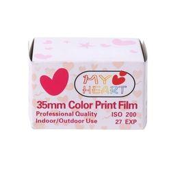 OOTDTY 35mm Color Print Film 135 Format Camera Lomo Holga Dedicated ISO 200 27EXP