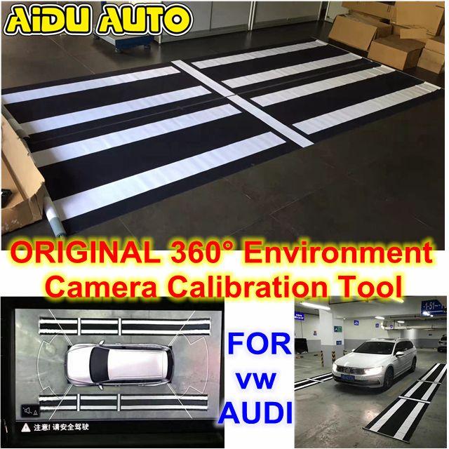 AIDUAUTO For Audi VW Skoda Seat Original 360 Environment Rear Viewer Camera Calibration Tool