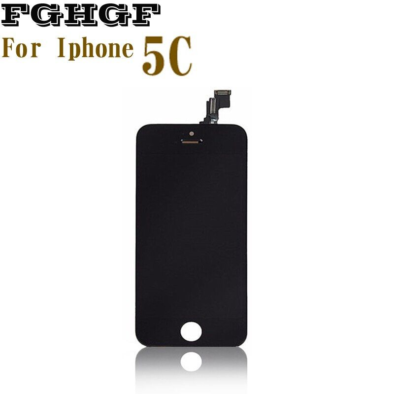 FGHGF Mobile Phone LCD Screen 3PCS/Lot For Iphone 5C Display With Touch Grade AAA Quality 100%Tasted
