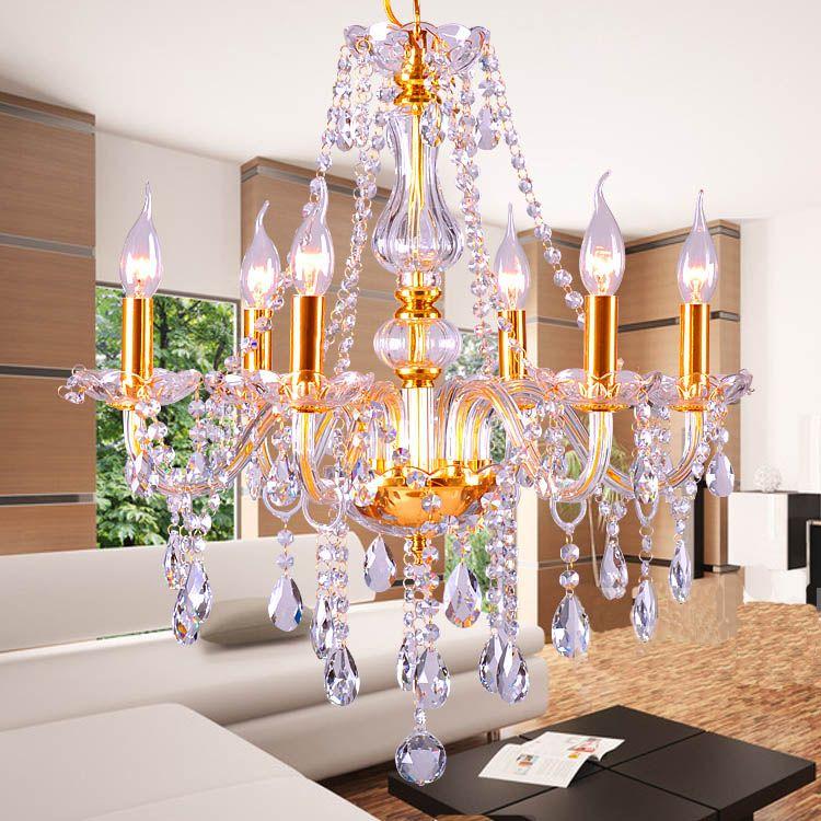 Gold Silber luxus-mode kristall Kronleuchter Modern Luxury Bestnote Kristall kerze kristall chandlier lichtquelle