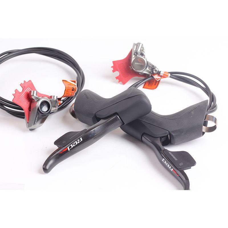 SRAM RED eTap Drahtlose Elektronische 2X11 s Geschwindigkeit Rennrad Fahrrad Hydraulische Scheiben Bremse Shifter Hebel Links: 1000mm Rechts: 2000mm