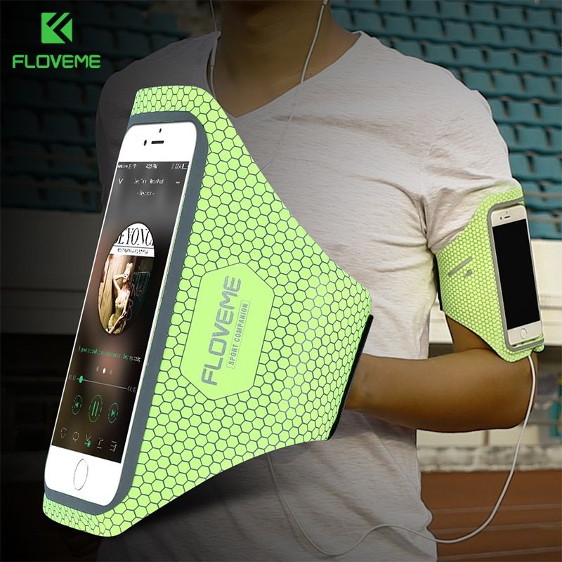 FLOVEME Running Sport Arm Band For iPhone 7 7 Plus 6 6s Plus Case Sport Fitness Waterproof Bag  For Apple iPhone 6 6s 7 7 Plus