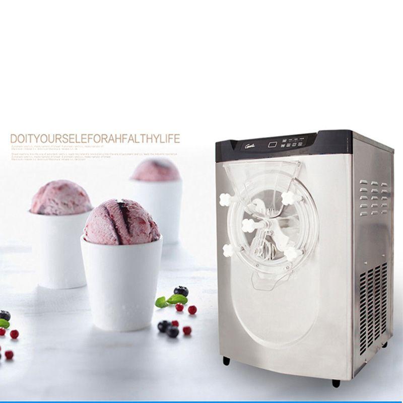 Commercial full automatic BQ22T desktop hard ice cream machine, ice cream maker, ice cream machine 1pc