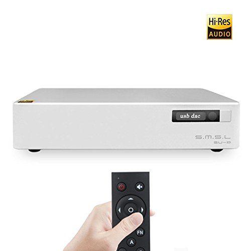 SMSL SU-8 ES9038Q2M*2 32bit/768kHz DSD512 DAC USB/Optical/Coaxial Decoder