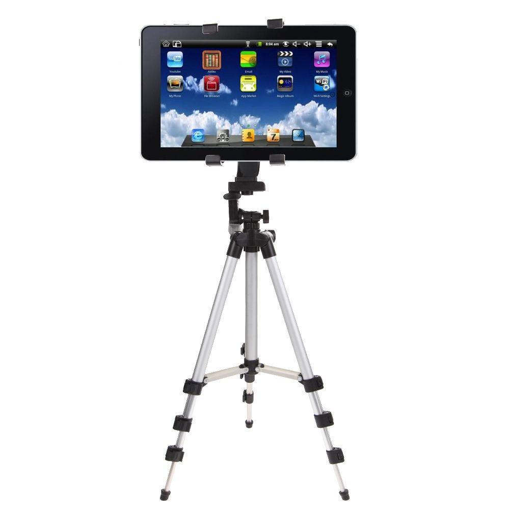 Trépied professionnel d'appareil-photo de support de tablette pour l'ipad 2/3/4 Mini Air Pro pour le PC de tablette de Samsung se tient de haute qualité