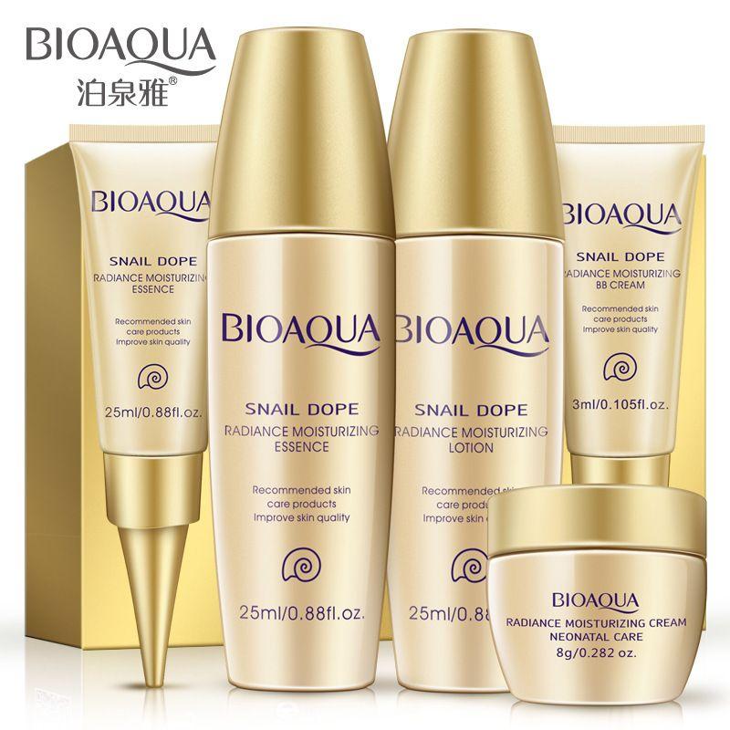 Bioaqua escargot crème Bella crème à l'escargot blanchiment de la peau voyage Anti-âge rides soins du visage crème de beauté pour le visage